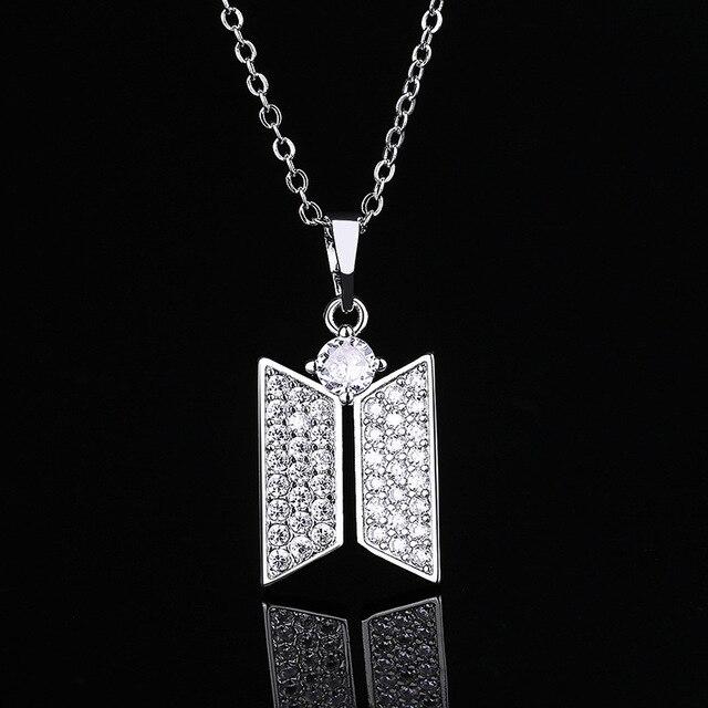 BTS Jewelry Logo Necklace 3