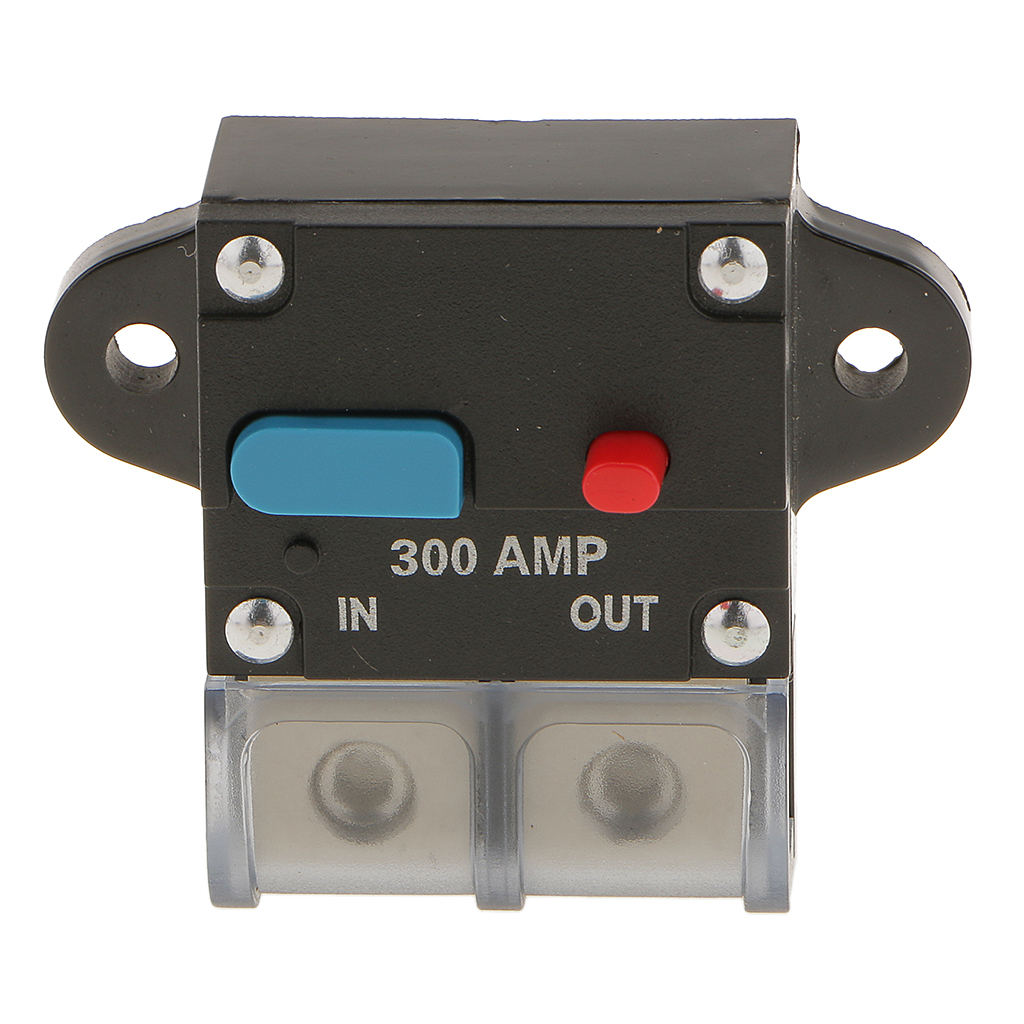 12 v 24 v disjuntor 300a amp in line disjuntor de audio estereo carro fusivel titular