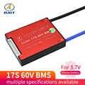 דיילי 3.7V 60V ליתיום NMC סוללה BMS 17S 30A 40A 50A 60A PCM עם איזון עבור חשמלי רכב E-אופני קטנוע שמש bms