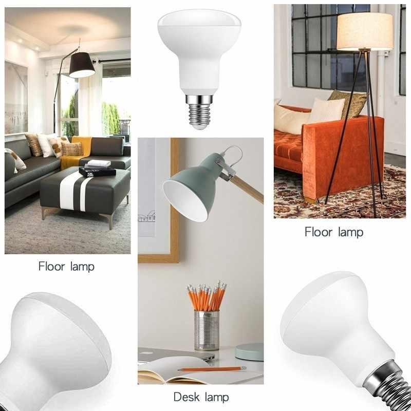 Ampoule led sans scintillement, Ampoule Led, lampe cfl, R39, R50, R63, R80 parapluie à led, AC 85-265V, E27, E14