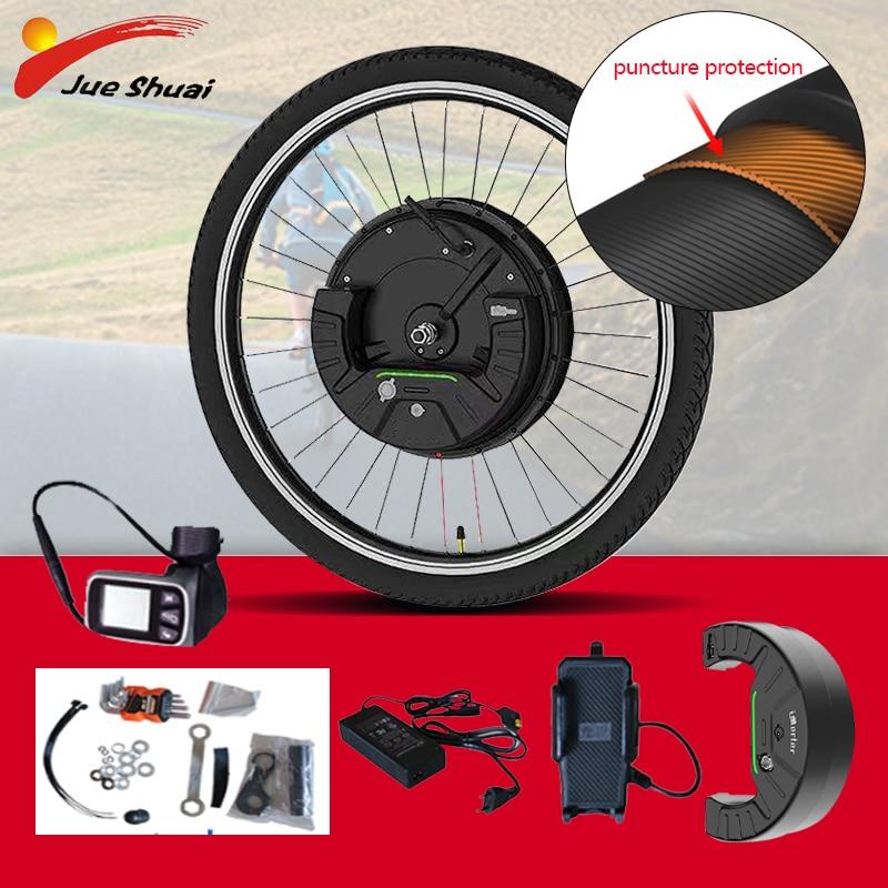 Imotor 3,0 Elektrische Fahrrad Conversion Kit mit Batterie 36V 350W große MTB Rennrad EBike Front Motor Rad elektrische bike kit