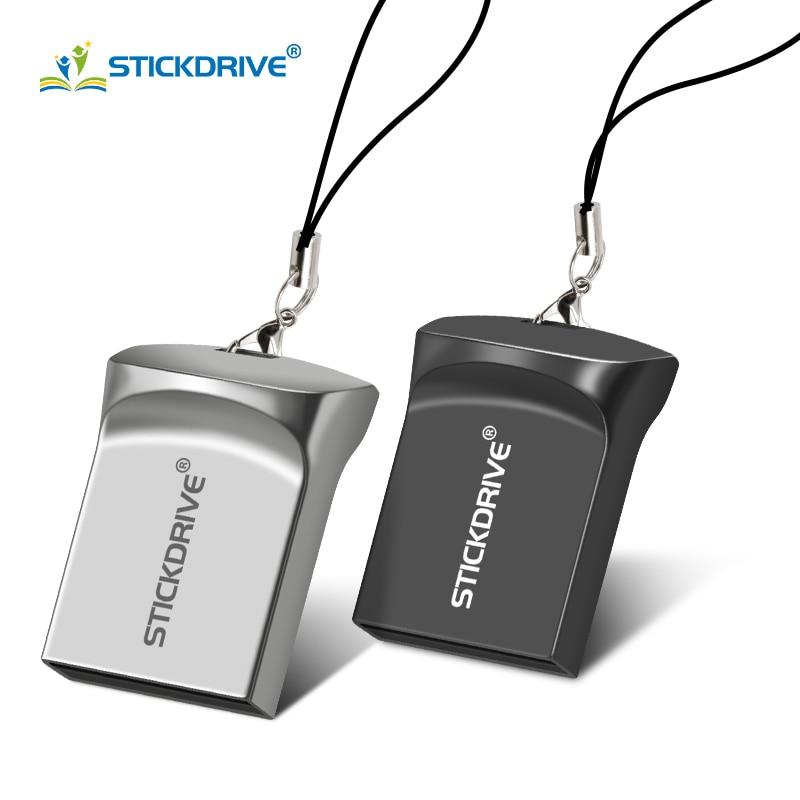 New flash disk ultra mini USB flash drive USB 2.0 memory stick 16GB 32GB pen drive 64GB 128GB flash drive with rope Pendrive