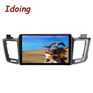 """Image 5 - Idoing 10.2 """"4G + 64G 8 Core Autoradio Android Multimedia Speler Voor Toyota RAV4 4 XA40 5 XA50 2012 2018 Gps Navigatie Geen 2din"""