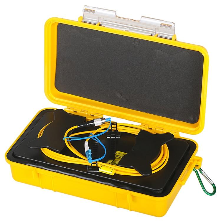 Good Quality 500M 1KM 2KM LC/UPC-FC/UPC Fiber tester SM Fiber optic OTDR launch cable box