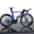 Мини-модель велосипеда 1:10 из сплава, литая под давлением, металлический палец, горный велосипед, гоночная модель, коллекционная игрушка для ...