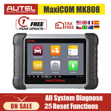 Autel MaxiCOM MK808 OBD2 Scanner All System Car Diagnostic Tool Automotive Tools Auto Code Reader Key Coding CRP 909X CRP909