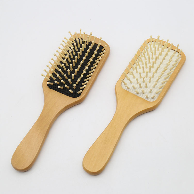 Wooden Hair Comb Soft Hair Brush Care Massage Anti-static Detangling Comb For Long Hair Women Hairdressing Salon Styling Tools