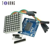 Free shipping! 1PCS MAX7219 dot matrix module microcontroller module display module finished goods стоимость
