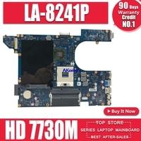 QCL00 LA 8241P motherboard CN 06D5DG 06D5DG 6D5DG for dell Inspiron 15R 5520 7520 laptop motherboard HD 7730M/2GB dell 5520