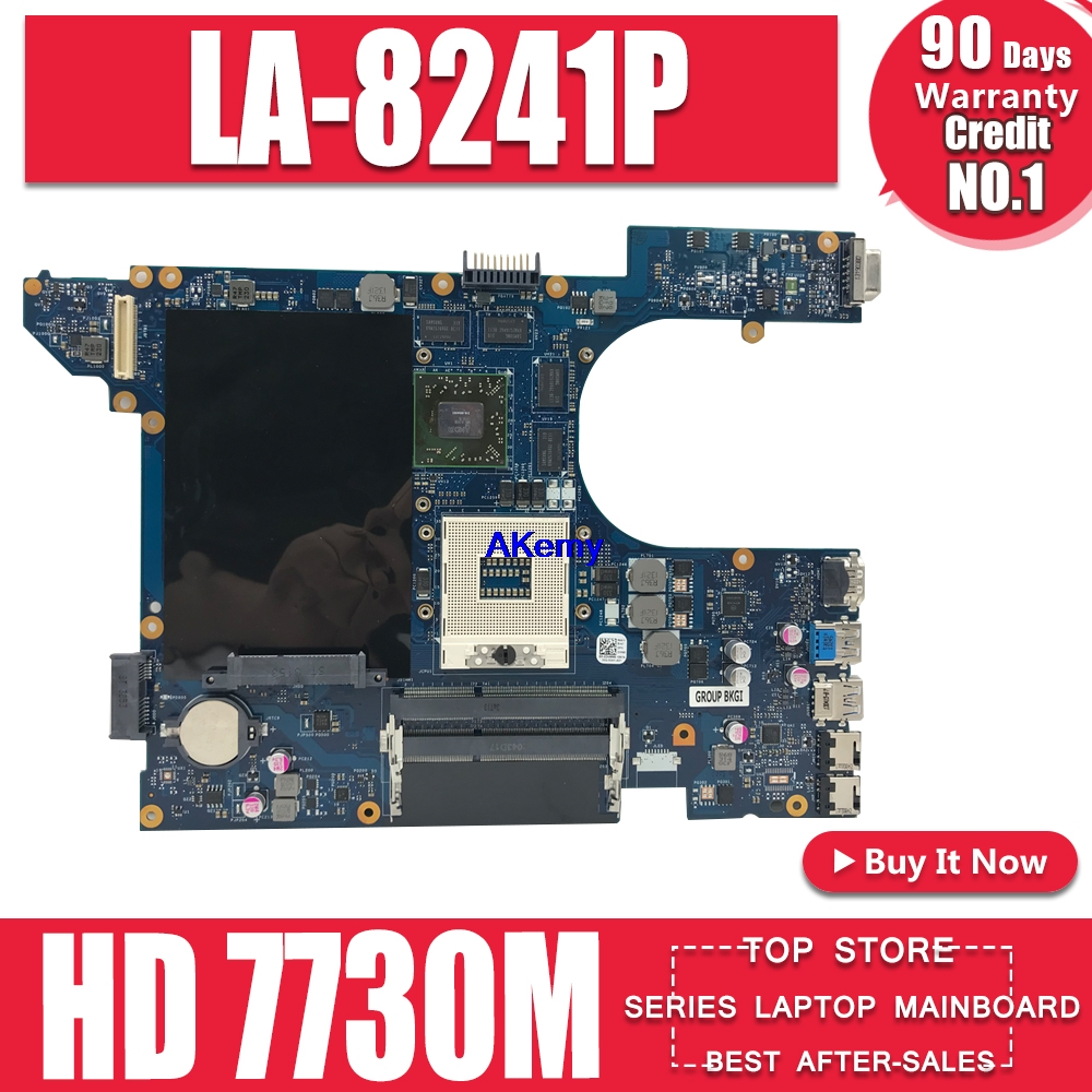 QCL00 LA-8241P Motherboard CN-06D5DG 06D5DG 6D5DG For Dell Inspiron 15R 5520 7520 Laptop Motherboard HD 7730M/2GB Dell 5520