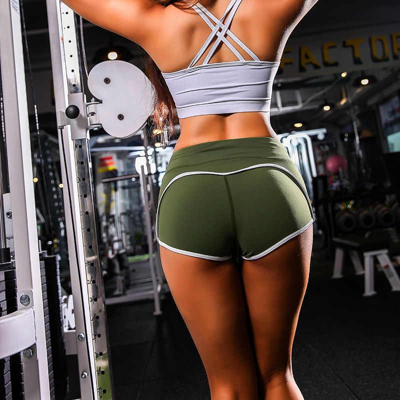 Shorts Deportivos Mujer Pantalones De Cintura Alta Elevaci/óN De Tope Calientes Atl/éTicas Yoga Fitness Cortos Ajustados