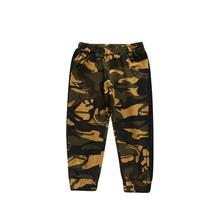 1-6T Baby Boys Girls Sports Pants for Kids Camoflauge Long Toddler Joggers Elastic Bottoms