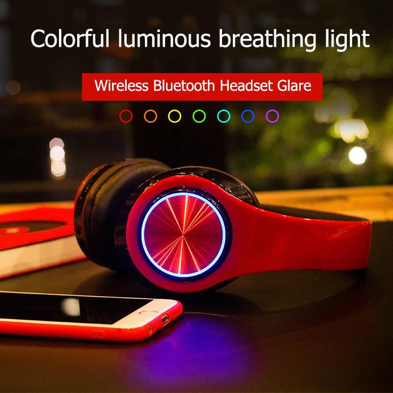 Wireless Headphones Sport OverEar Bluetooth Earphones Portable Adjustable Headset with Micphone HiFi Gaming Headset for Xiaomi in Bluetooth Earphones Headphones from Consumer Electronics
