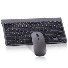 Combo-Set Slim Keyboard Wireless Mouse Multimedia Laptop Mini 1600DPI And for Notebook