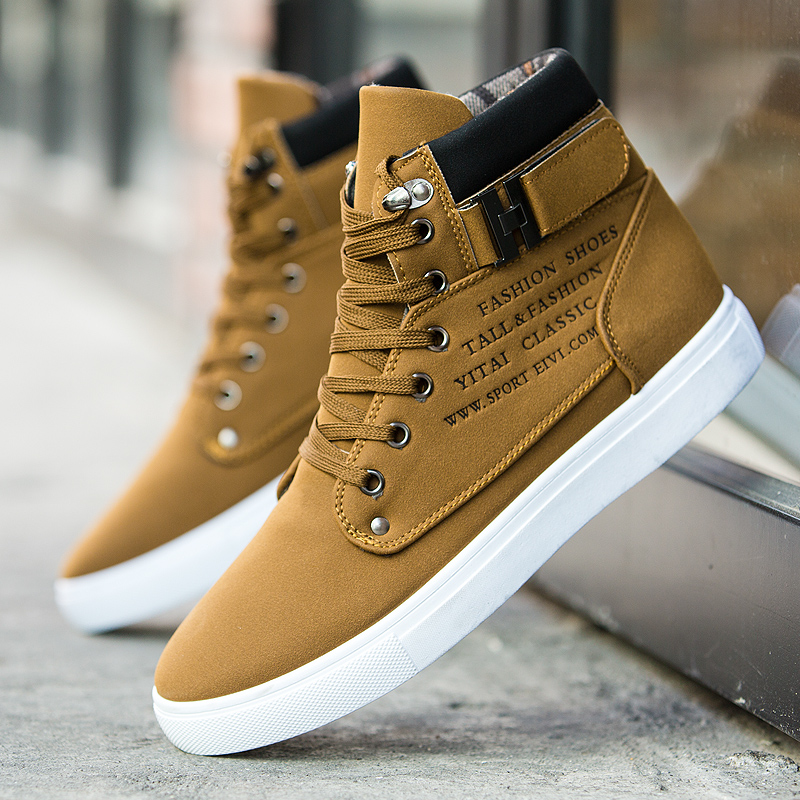 Canvas Casual Shoes Men Sneakers