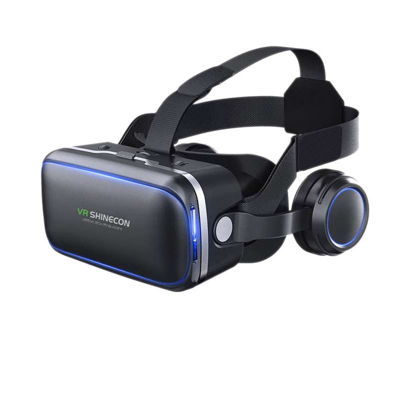 VR shinecon 6.0 Standard edition and headset version virtual reality 3D VR glasses headset helmets Optional controller