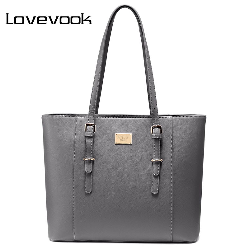 LOVEVOOK Women Handbag Shoulder Bag For Office Ladies Large Laptop Tote Bags For 14/15. 6 Inch Luxury Handbags Women Bags Design
