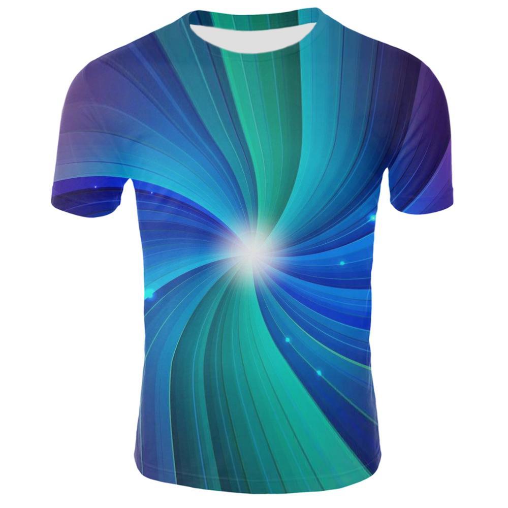 Забавные летние тренды, уличные костюмы в стиле хип-хоп, 3D принт, абстрактные завитки, Повседневная футболка, Мужская футболка с 3D-принтом