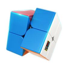 Moyu 2x2x2 mini bolso cubo meilong velocidade 2x2 cubo mágico profissão educação brinquedo