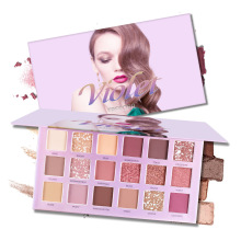 Eyes Dancing 18 Colors Eyeshadow Pallete Women Makeup Shimmer Powder Nuded Pigmente Shadow Palette Long Lasting Matte Eye Shadow novo 18 colors nude eyeshadow palette shimmer matte pressed eye shadow powder makeup glitter palette lasting eyes cosmetics