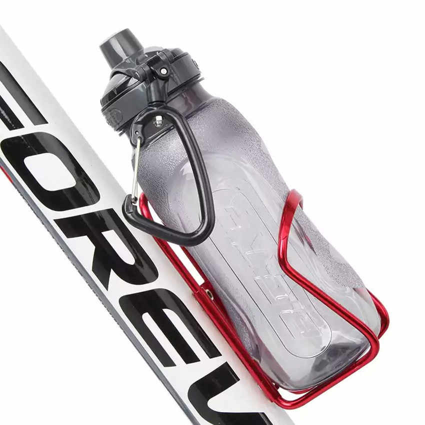 زجاجة ماء للدراجة حامل رف زجاجة سبائك الألومنيوم حامل حامل الزجاجات شنت ل شورت مخصص لركوب الدراجات الهوائيّة الجبلية دراجة اكسسوارات