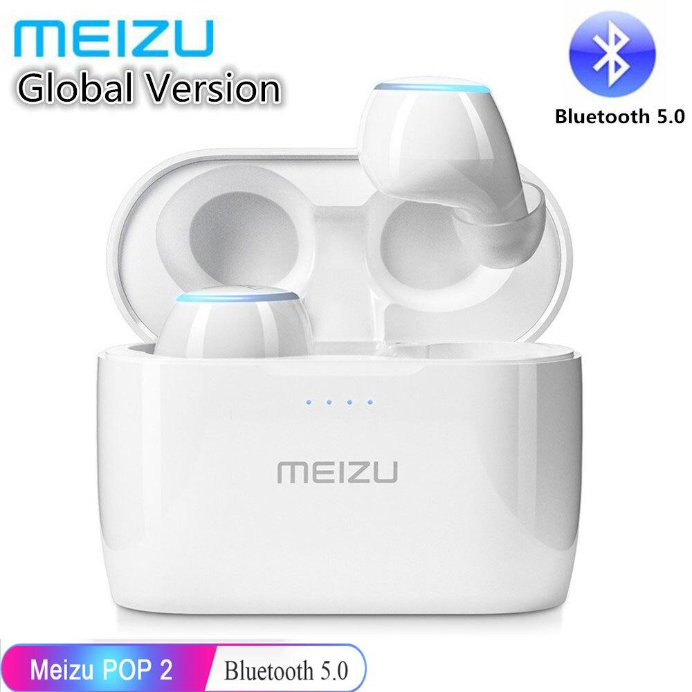 Meizu originais POP 2 TW50S Versão Atualizada TWS POP2 Esportes fone de Ouvido Sem Fio Bluetooth 5.0 Fone De Ouvido À Prova D' Água Para iPhone Meizu