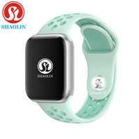 Reloj inteligente Bluetooth Sereis 4 hombres reloj inteligente para ios apple iPhone 6S 7 8 X plus para samsung pk apple watch gel de sílice