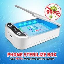 الأشعة فوق البنفسجية ضوء هاتف محمول المطهر المحمولة هاتف ذكي معقم الروائح مطهر USB شحن الأنظف للمفاتيح خواتم