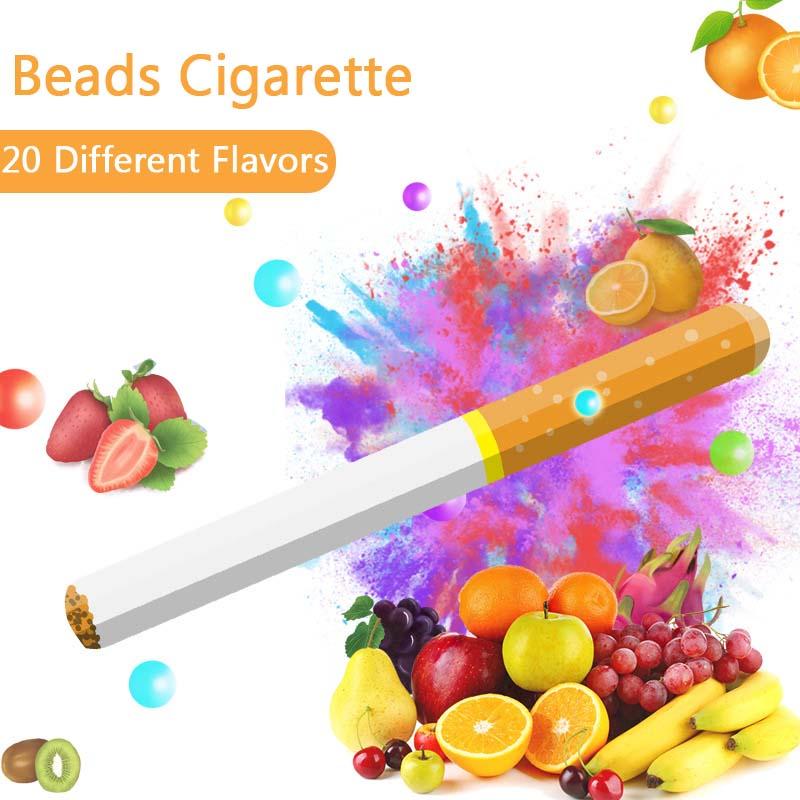 100 Pcs Cigarette Pops Fruit Flavour Mint Flavor Cigarette Holder Smoking Accessories Men Gift Cigarette Holder Filter Wholesale