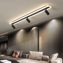 Modern LED Ceiling Lights for living room bedroom study cloakroom commercial place clothing store Home deco ceiling lamp Black