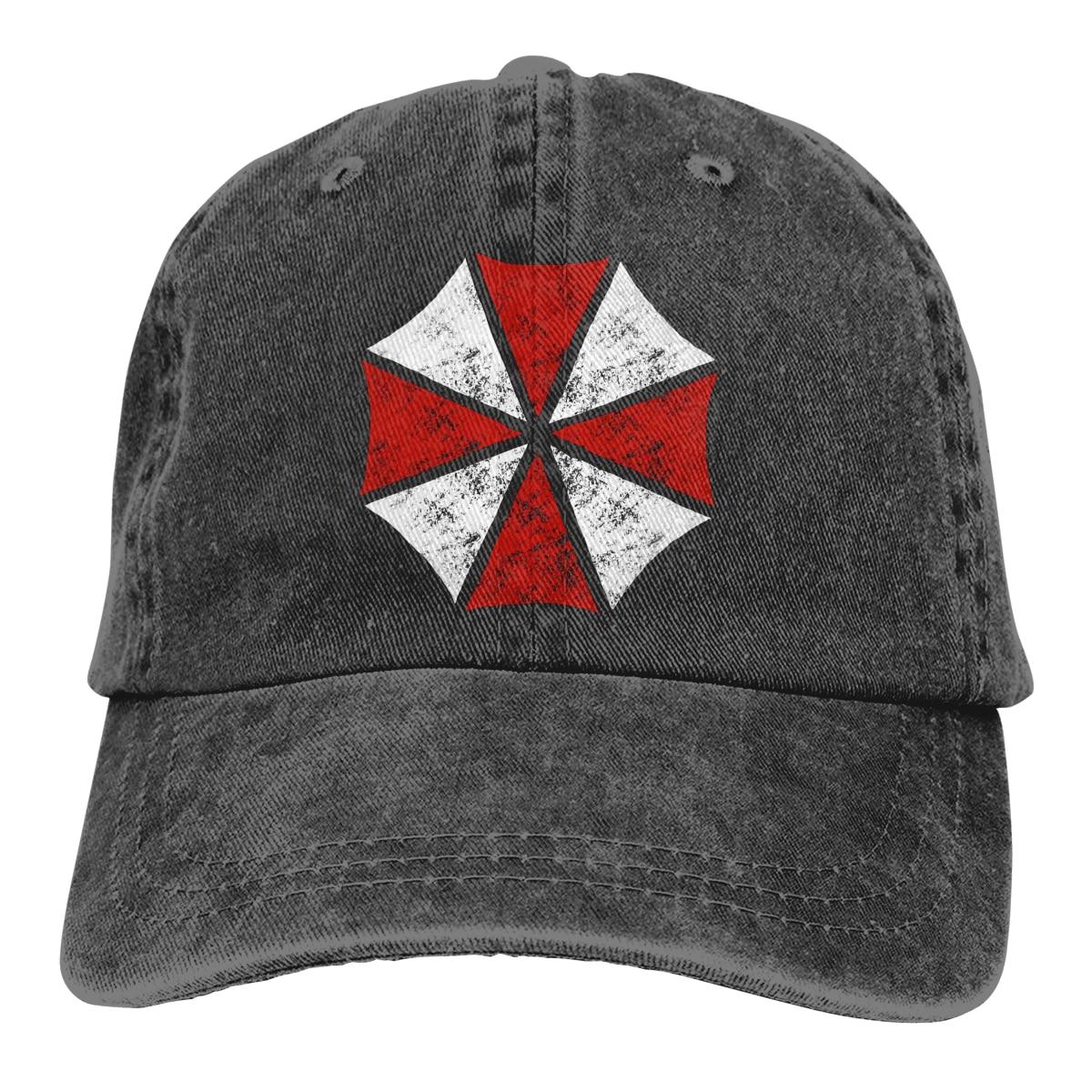 Umbrella Wholesale Cotton Baseball Cap Men Women Residented Evil Dad Mesh Hat Trucker Dropshipping Outdoor