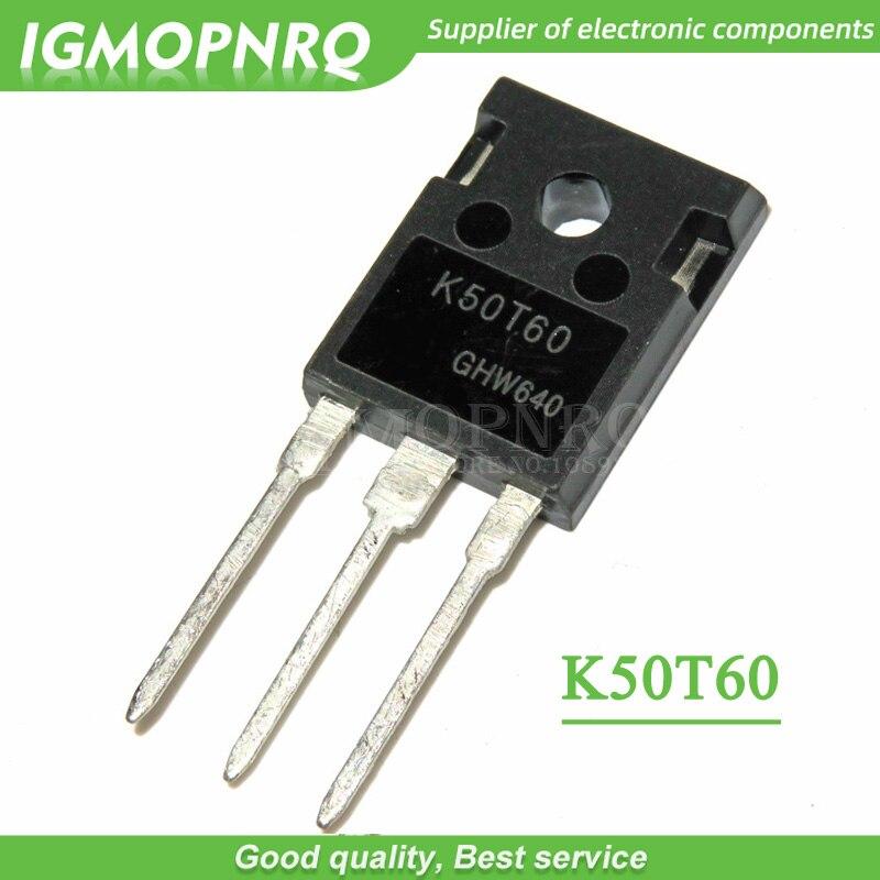 k50t60 pdf - 5PCS  K50T60 IKW50N60T 50N60 TO-247 50A 600V IGBT transistor ,new original