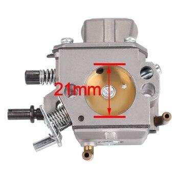 Carburetor with Air Filter Fuel Line Repower Kit for stIHL MS290 MS310 MS390 029 c1m w26 carburetor with 530057925 air filter fuel line filter tune up kit for poulan p3314 p3416 p3816 p4018 pp3416 pp35