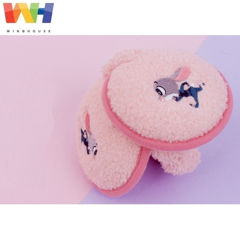 Winghouse Children Earmuffs Zootopia Judy Ear Cover Plush Warm Floding EarBags Girl Windproof Earplugs Winter Headphones Earflag