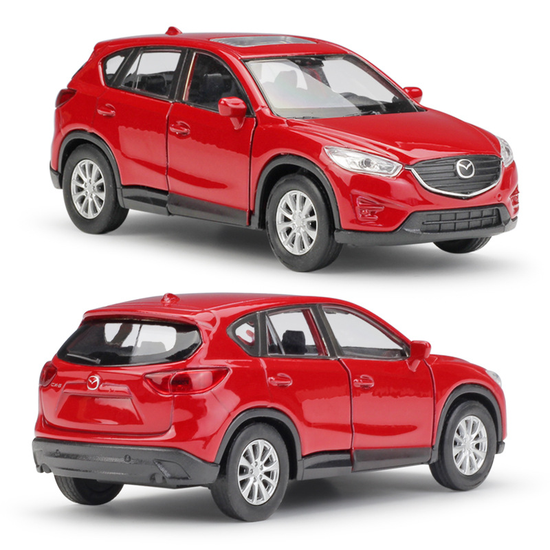 Hot 1:36 Mazda CX-5 SUV Alloy Car Model,simulation Die-cast Metal Door Pull Back Model,children's Birthday Toys,free Shipping