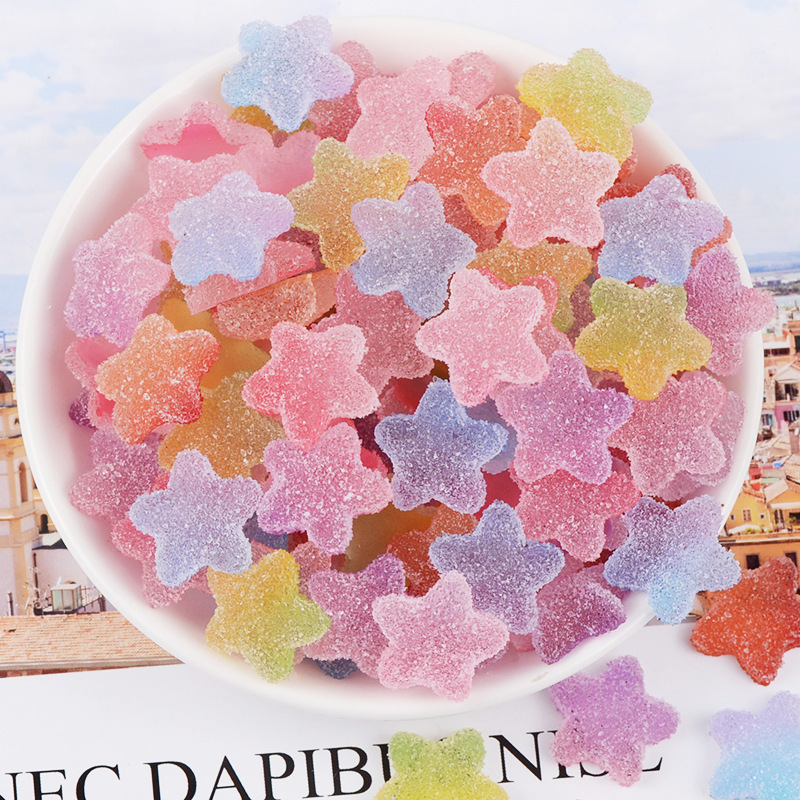 Chameleon Candy Charms For Slime DIY Polymer Filler Addition Slime Accessories Toys Lizun Powder Modeling Clay Kit For Children