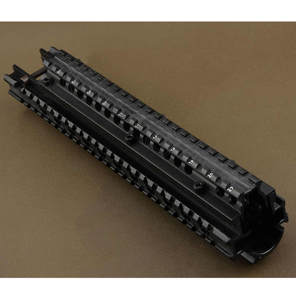 Nieuwe Tactical FN FAL Quad Rail Montage Systeem Picatinny Rail Handguard Aluminium L1A1 Outdoor Jacht Accessoire