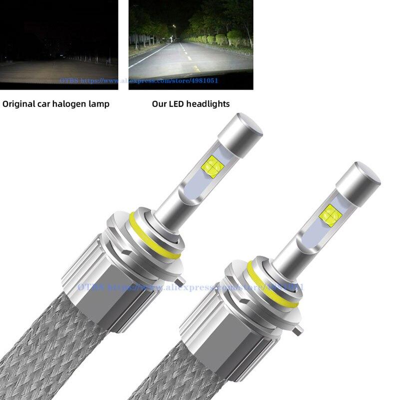 H4 H7 Led Car Lights 110W 12000LM XHP50 Chips Auto LED Headlight Lamps 9005 9006 H1 H3 H8 HB3 H11 H13 D2S Automobile Fog Light