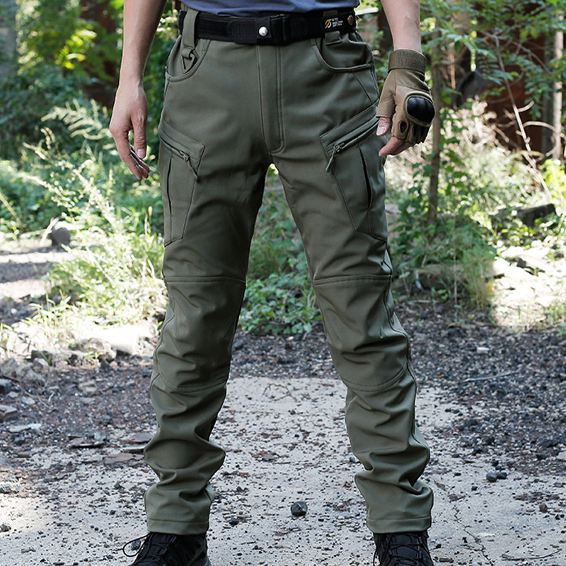 Mens Waterproof Combat Military Tactical Pants Hiking Outdoor Climbing Trouser