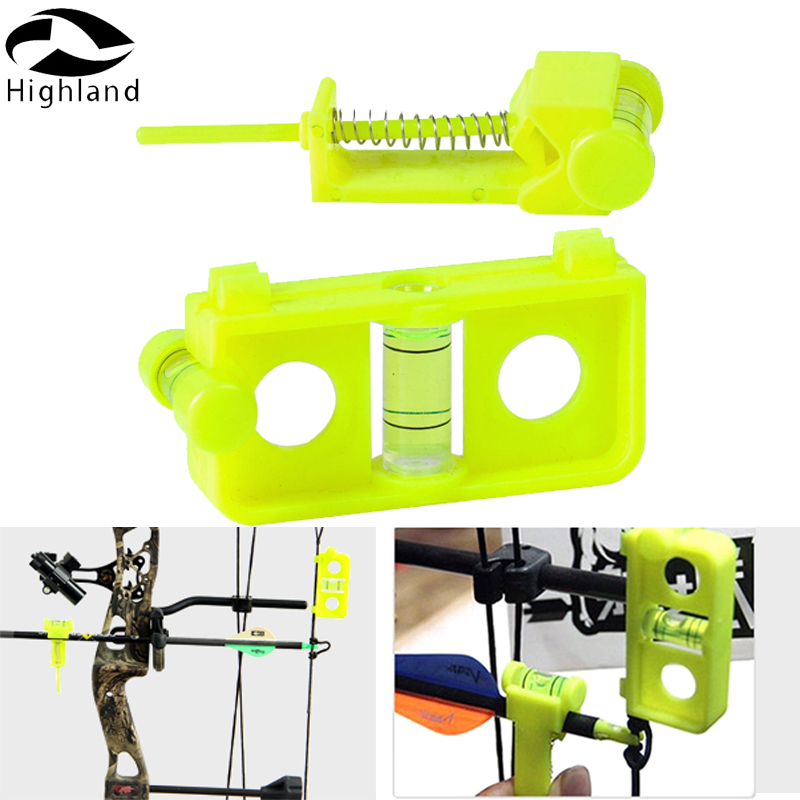 Arrow Level nock and Snap on String Combo Accessories Archry Level Bowstring Level for Compound Target shooting