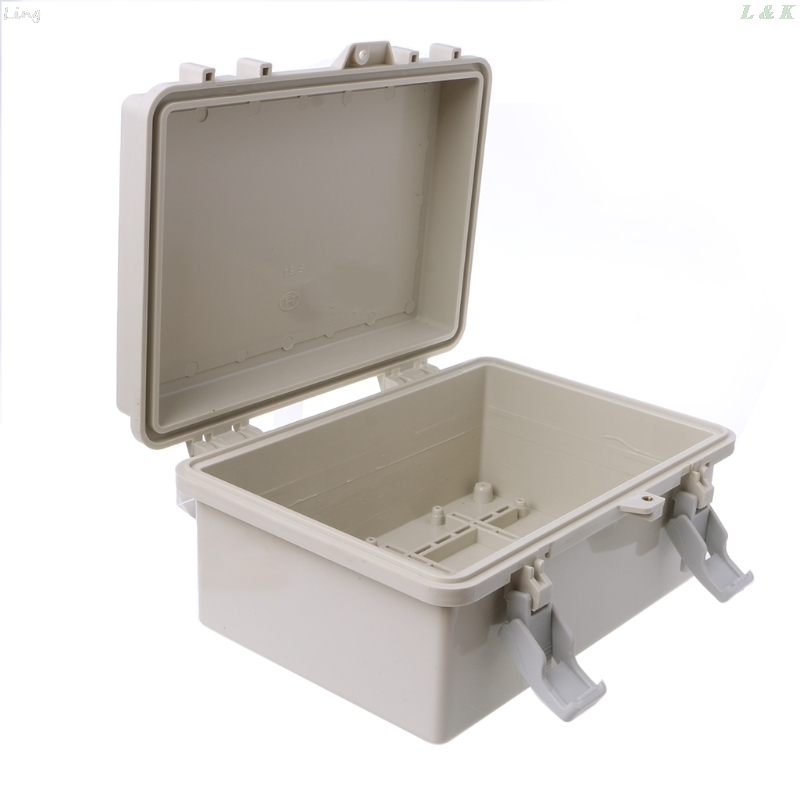 IP65 Waterproof Electronic Junction Box Enclosure Case Outdoor Terminal Cable 1 pcs