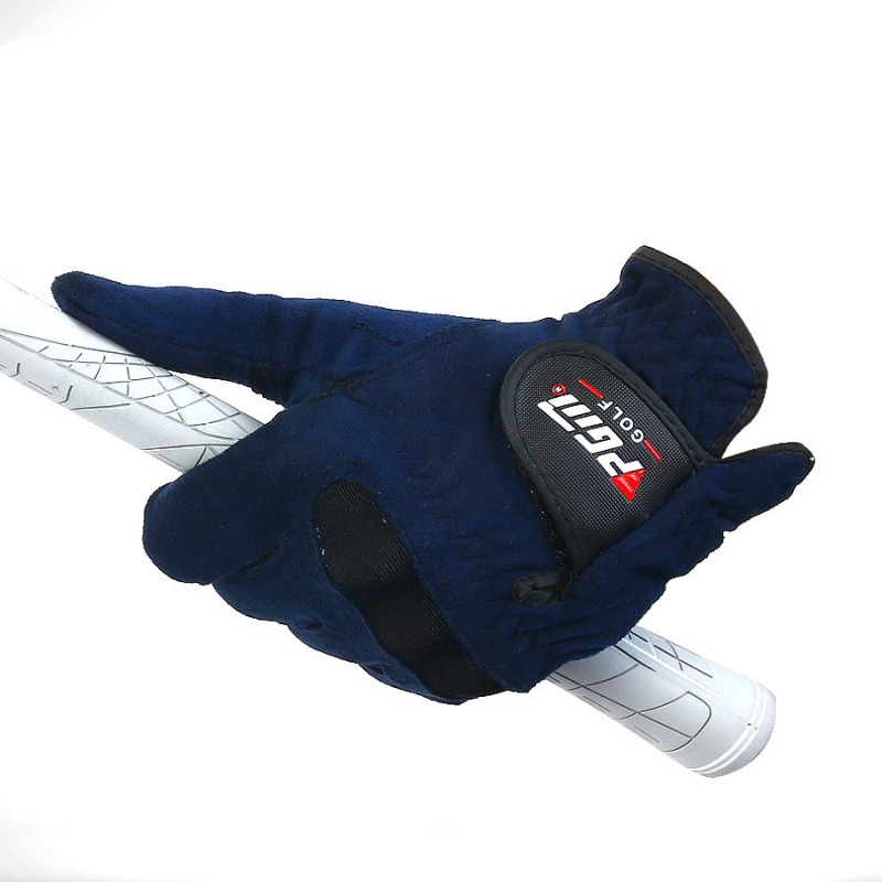 Men Right Left Hand Golf Gloves Sweat Absorbent Microfiber Cloth Soft Breathable Abrasion Gloves Brand Outdoor