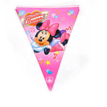 Disney Mickey Minnie birthday party decoration Family Disposable plates paper cups popcorn boxes tablecloths