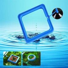 Присоска для аквариума кормушка круглая подача синее кольцо