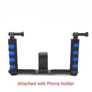 Image 4 - Jadkinsta stabilisateur portatif de caméra de plate forme pour Smartphone Gopro support de plateau DSLR pour Canon Nikon pour appareil photo Sony