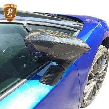 Real Carbon Fiber Mirror Cover For Gallardo LP550 LP560 LP570 Carbon Accessories 2008-2014