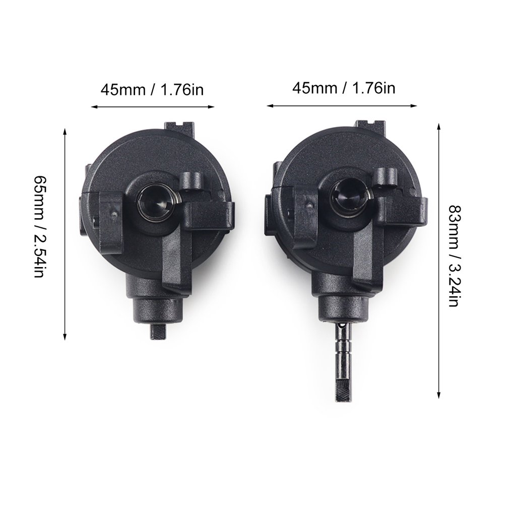 HotFront Rear Gear Box Complete Set Drive Diff Gear For HSP 1 10 RC Car Parts 02024 02051 02030 03015 94123 94106 94107 94108 in Parts Accessories from Toys Hobbies