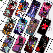 Genesis Evangelion NGE EVA Phone Case For Xiaomi Mi 8 9 Note 10 A3 9T 10T 11 Poco x3 Lite Pro NFC Ultra black Prime Soft Cell