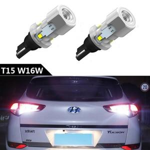 2pcs 1000Lm W16W T15 LED Bulbs Canbus Error Free LED Backup Light 921 912 W16W LED Bulbs For Hyundai Tucson I30 I40 Solaris