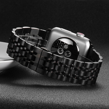 stainless steel strap for apple watch 4 band 44mm 40mm 42mm 38mm iwatch pulseira 4/3/2/1 316L metal Butterfly buckle bracelet